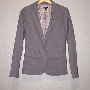 APT 9 business blazer suit coat gray, SZ 2